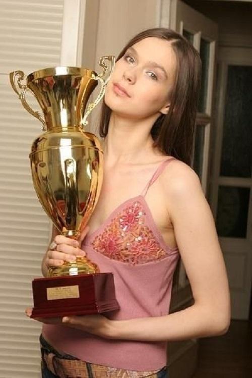 Anastasia Luppova beautiful Billiard Champion