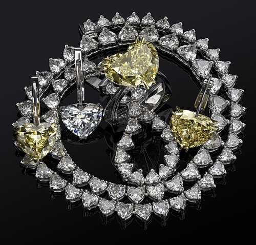 Gorgeous set of diamond jewellery