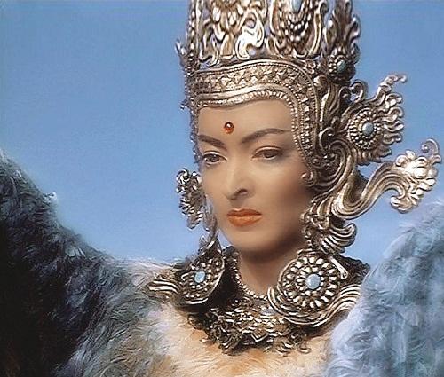 """USSR film """"Sadko"""", 1952. Phoenix – Lydia Vertinskaya"""