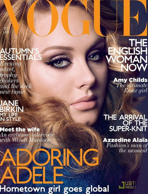 Cover girl Adele