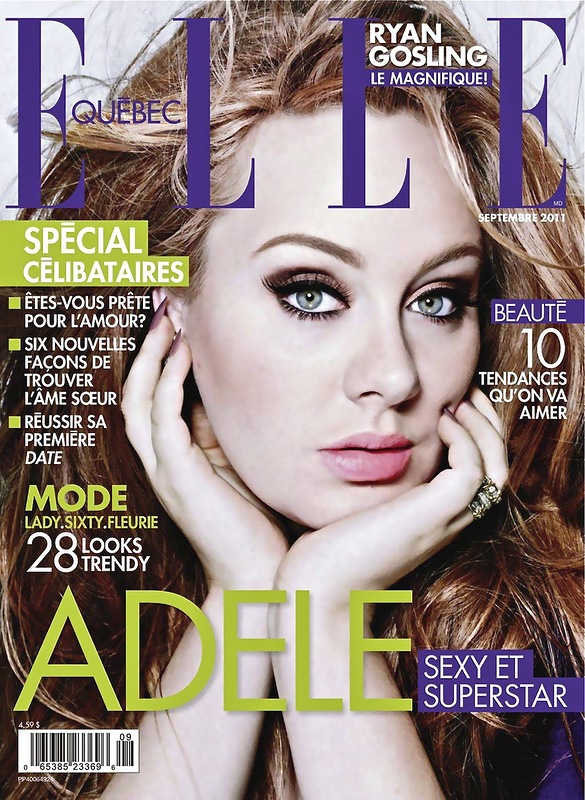 Elle magazine, Adele Laurie Blue Adkins