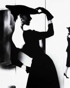 Black and white fashion photography by Lillian Bassman