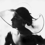 Black and white fashion photography by Lillian Bassman