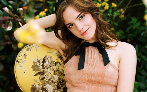 English actress and model Emma Watson