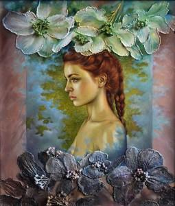 Female beauty in folk paintings of Maria Ilieva, Bulgarian artist