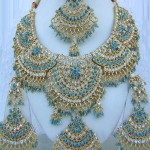 beautiful Bollywood crystal jewellery