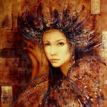 Mistery and beauty of Renaissance women in painting by Hungarian artist Csaba Markus