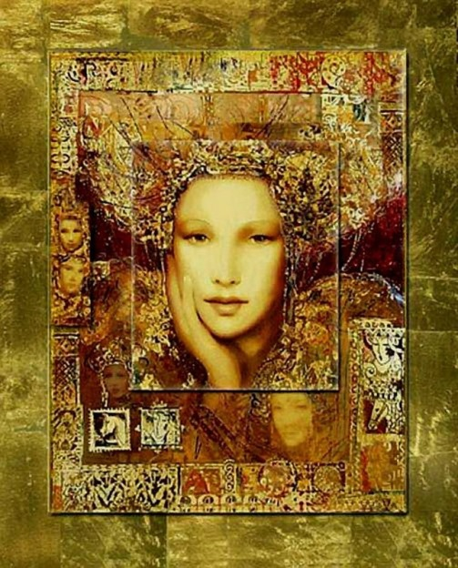 painting by Hungarian artist Csaba Markus