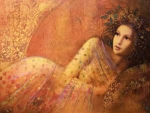 Beautiful female portraits by Hungarian artist Csaba Markus