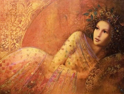 Beautiful female portraits by Hungarian artist Csaba Markus