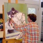 Work in progress, Lisa Fittipaldi blind artist