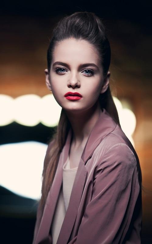 Alina Zolotykh, a young Russian model