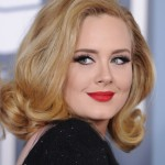 Beautiful English singer Adele