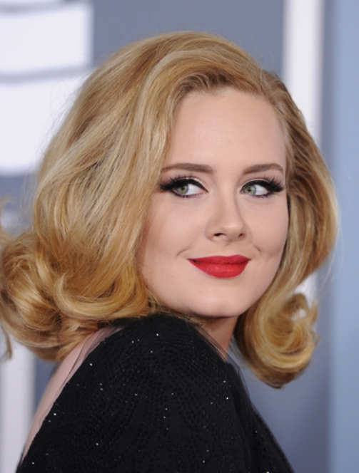 Beautiful English singer Adele