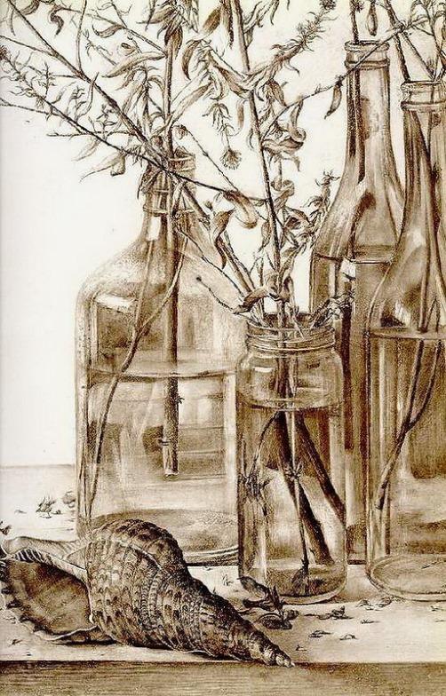 Painting by Rudolf Khachatryan, Armenian artist
