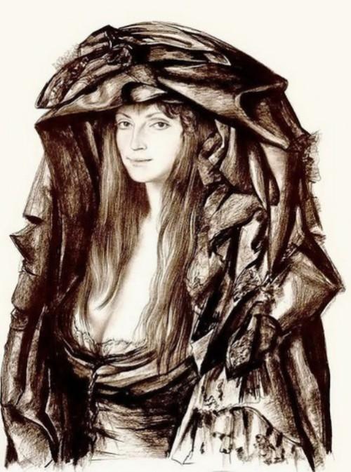 Laura. Armenian artist Rudolf Khachatryan
