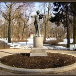 Monument to Johann Strauss in Russia