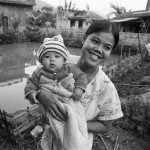 young singapore mother