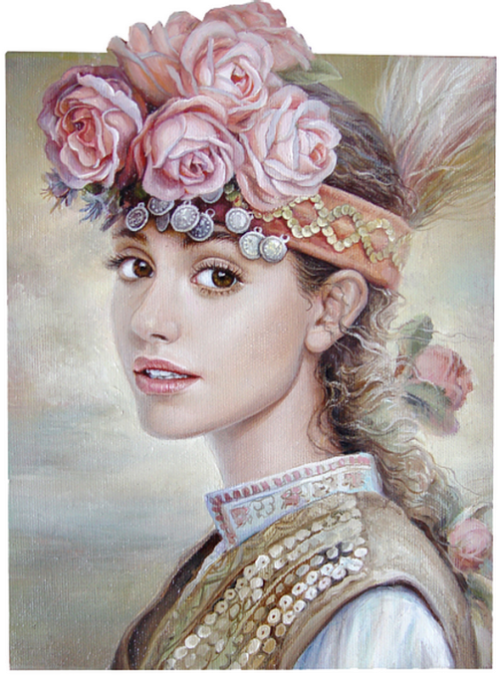 Beauty by Bulgarian artist Maria Ilieva, Bulgarian artist