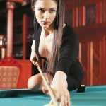 Anastasia Luppova beautiful Billiard Champion