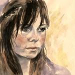 Ukrainian painter Elena Senichenko