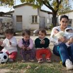 17 year-old Pamela Villarruel, 17-year-old mother of 7 children, one boy and six girls