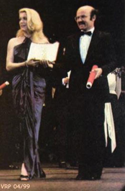 1979 - Remise de la Palme d'Or