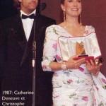 1987 - Remise de la Palme d'Or