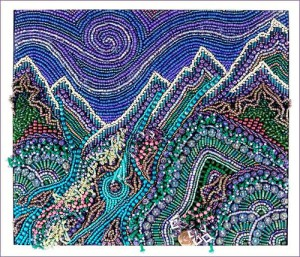 Beautiful beadwork by American artist Robin Atkins