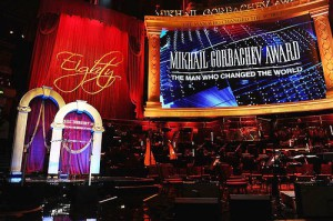 Gorby 80 Gala at the Royal Albert Hall on March 30, 2011 in London, England