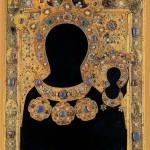 Salary icons, 1560. Gold, enamel, filigree. The Armoury