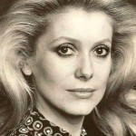 French actress and model Catherine Deneuve