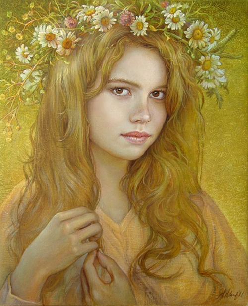 Beauty by Bulgarian artist Maria Ilieva