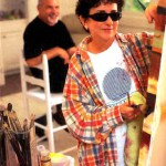 Blind artist Lisa Fittipaldi