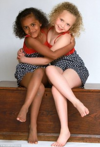 Beautiful sisters Kian and Remee