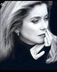 French actress and model Catherine Deneuve