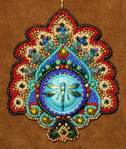 beadwork by American artist Robin Atkins