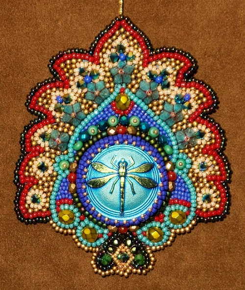 beadwork by American artist Robin Atkins