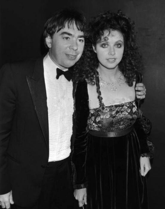 Lloyd Webber and Sarah Brightman