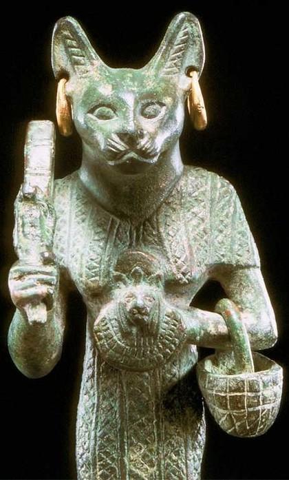 Cat goddess Baste