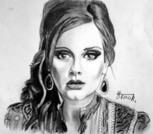 Adele Portrait by Ronib