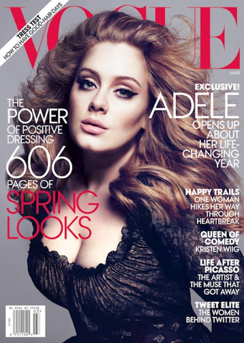 Adele Vogue cover