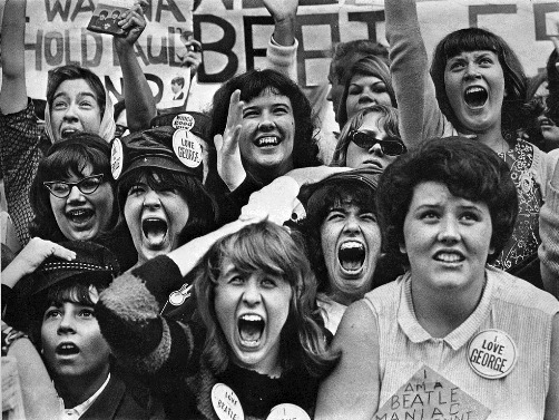 Nineteen-sixties phenomenon Beatlemania