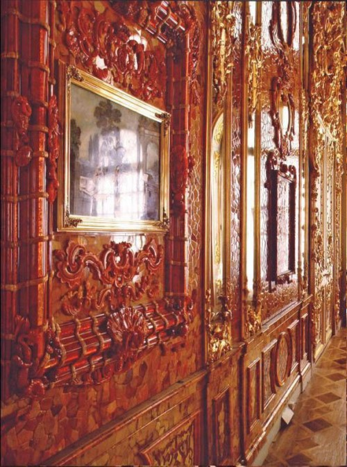 Walls of Amber Room