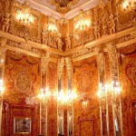 Newly rebuilt Amber Room