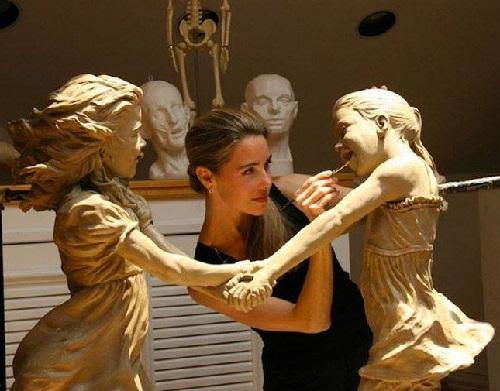 Beautiful Sculpture by Angela Mia De La Vega