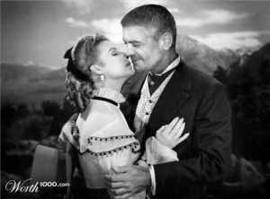 Ann Sheridan and George Clooney in the 1948 classic Silver River.