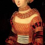 Anna's portrait of Cranach, 1550
