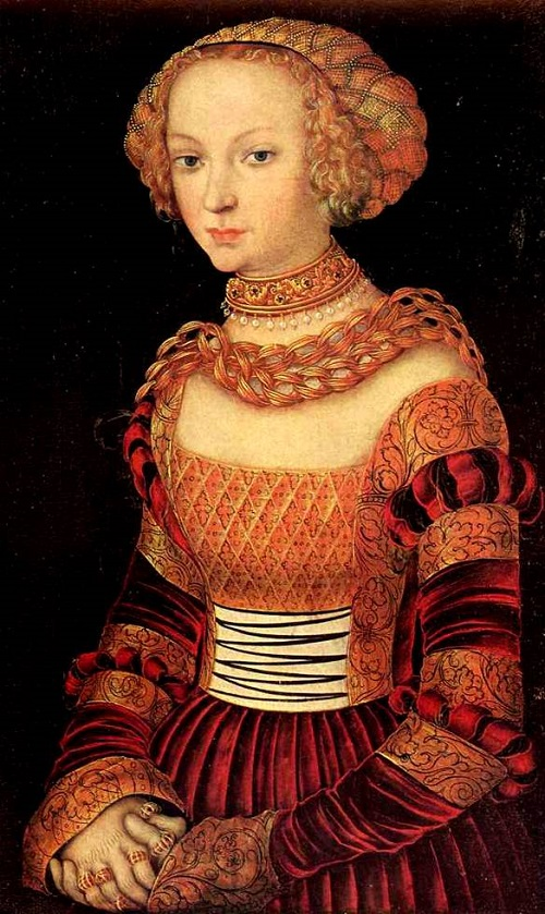 Anna's portrait of Cranach, 1550