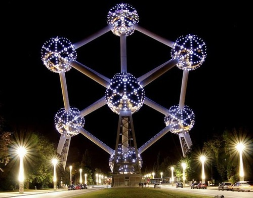 Atomium in Brussels Architecture aims at Eternity